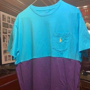 Polo Ralph Lauren Shirt Pocket T Custom Split